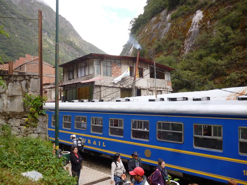 First look of Aguas Calientes