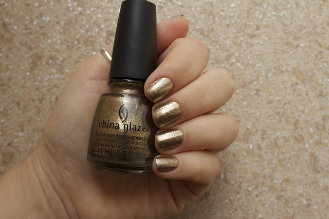 09 China Glaze Autumn Nights Goldie But Goodie