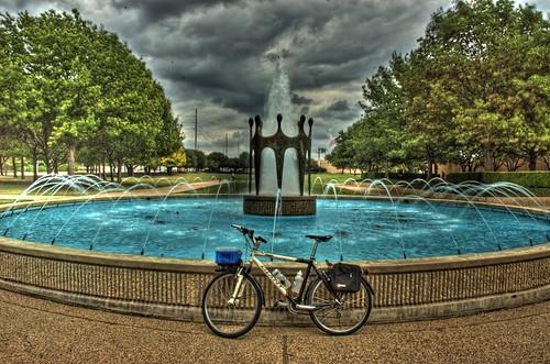 7) City Hall Fountain