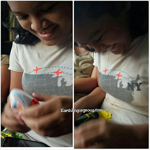 the joy when a kid opens a Kinder Joy? priceless