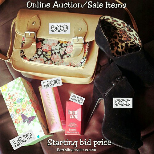 Online Auction/Sale for #RebuildPh