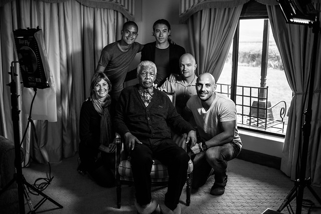Nelson Mandela Shoot