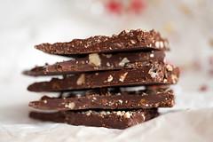 Walnuss-Karamell Schokolade mit Fleur de Sel