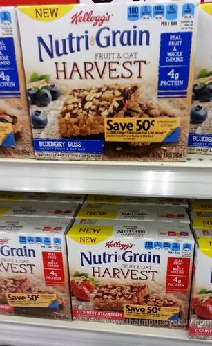 NutriGrain Fruit & Oat Harvest Bars