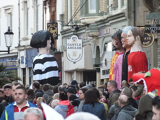 St David's Day Parade in Cardiff