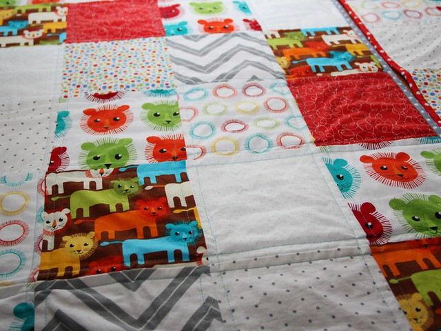 my first quilts