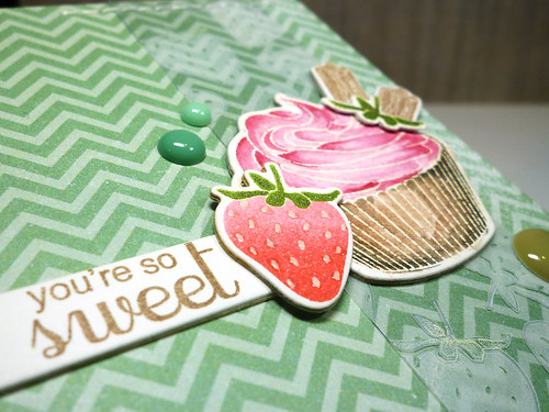 Clearly Besotted - Anniversary Blog Hop - Close Up