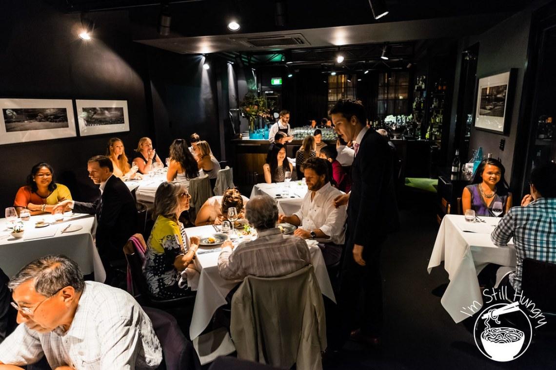 Attica restaurant interior