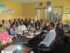 Innovation platform meeting at Jeldu district administration office (Photo credit: ILRI/Adie)