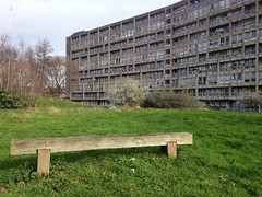 British Brutalist Architecture in the East End of London - Robin Hood Gardens