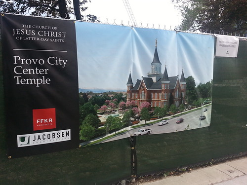 5-22-13 Provo Temple Reconstruction Poster