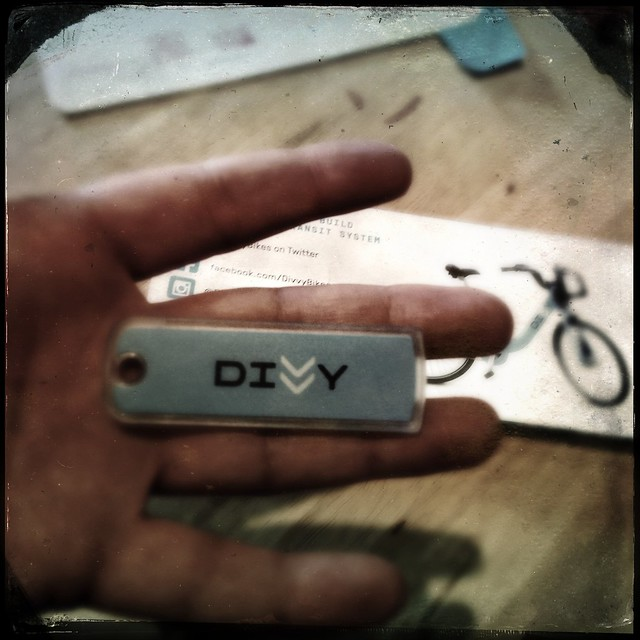 Yayyy, got my DivvyBikes key today