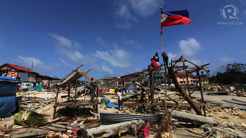 Typhoon Haiyan (Yolanda) via Rappler/Photo by Franz Lopez