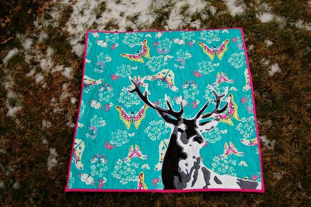 Deer Quilt 1