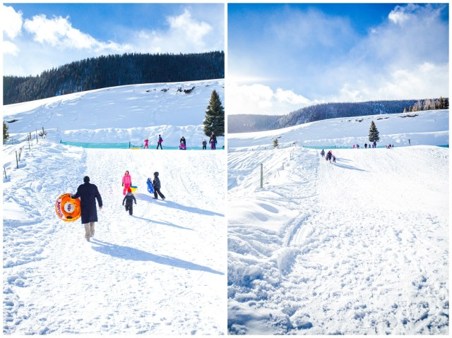 Crested Butte Sledding Hill