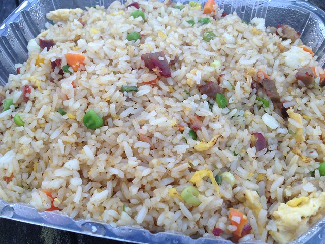 Barbecued pork fried rice - Jade Cafe