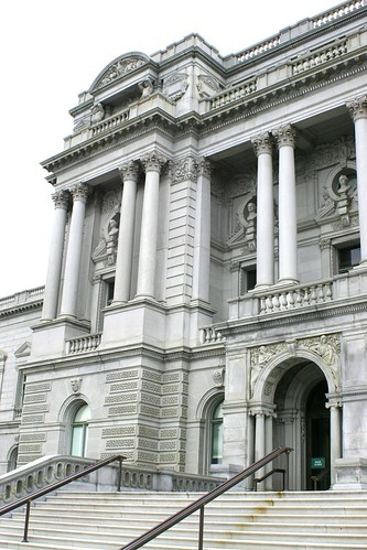 Library of Congress Thomas Jefferson Building entrance