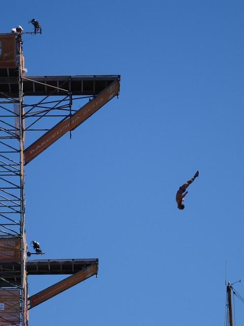 High dive at BCN2013