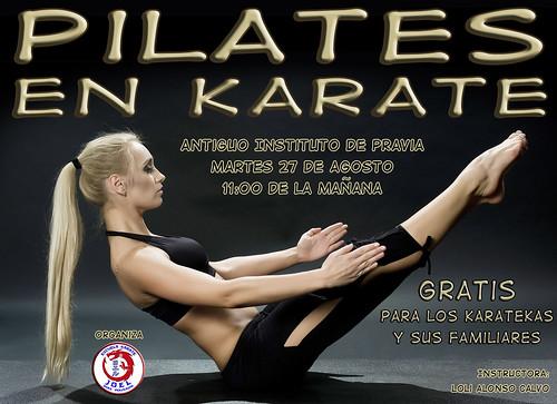 Pilates en Karate