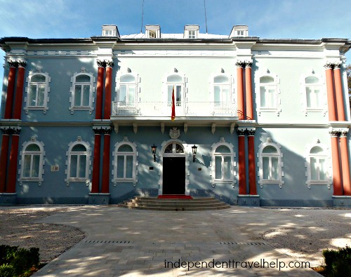 The Blue Palace in Cetinje