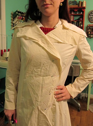 Coat Muslin, part 2