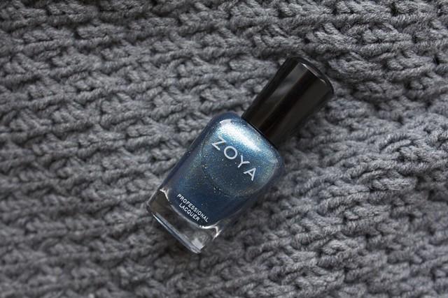 01 Zoya Crystal swatches