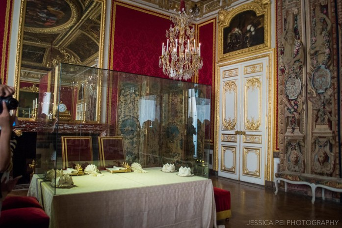 Versailles Queen's Apartment antechamber of the Grand Couvert
