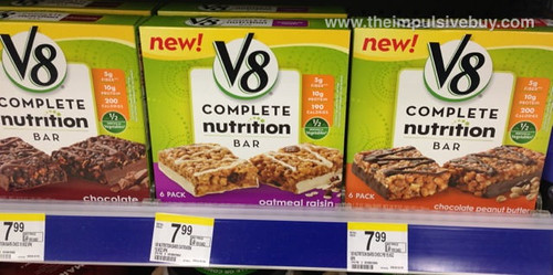 V8 Complete Nutrition Bar