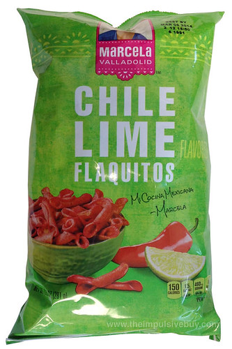 Marcela Valladolid Chile Lime Flaquitos
