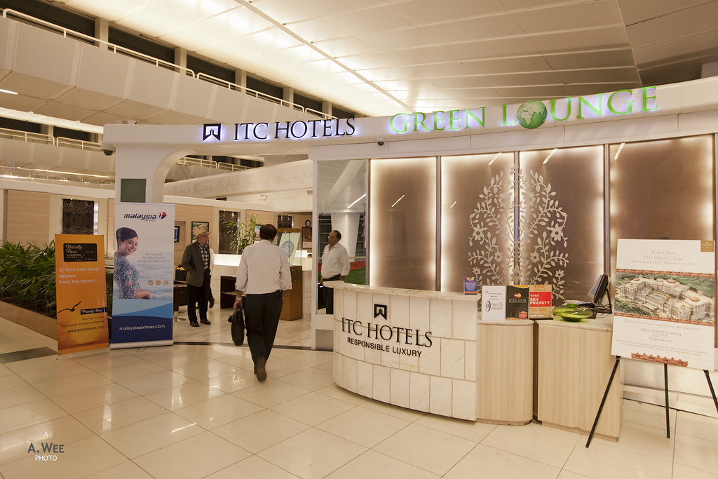 Entrance to the ITC Green Lounge