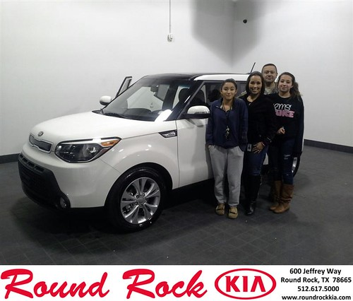 Thank you to Michelle Duran on your new 2014 #Kia #Soul from Eric Armendariz and everyone at Round Rock Kia! by RoundRockKia
