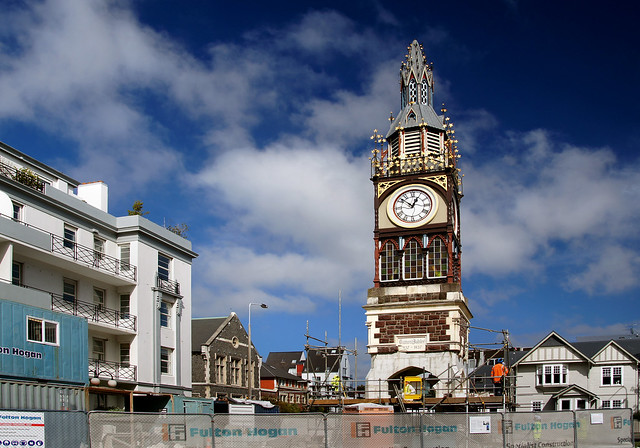 Queen Victoria Clock Tower repair.