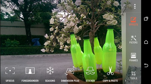 Duo Camera Effects ของ HTC One M8