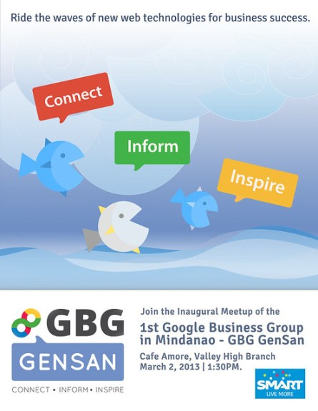 GBG GenSan Meetup Launch Poster