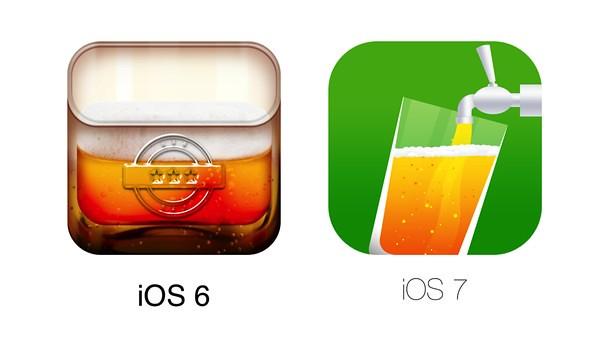Как изменятся иконки моих любимых приложений в iOS 7? Примерно так…