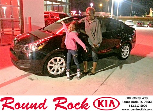 Thank you to Sharon  Davis on your new 2013 #Kia #Rio from Kelly  Cameron and everyone at Round Rock Kia! #NewCarSmell by RoundRockKia