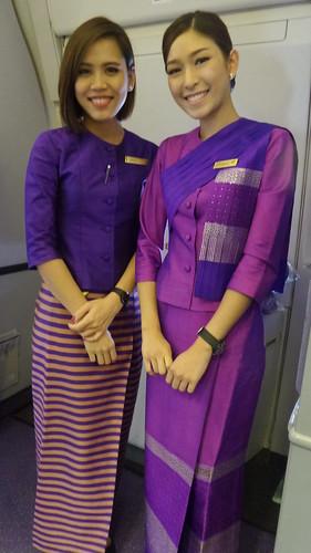 Thai Airways & Bangkok Airport