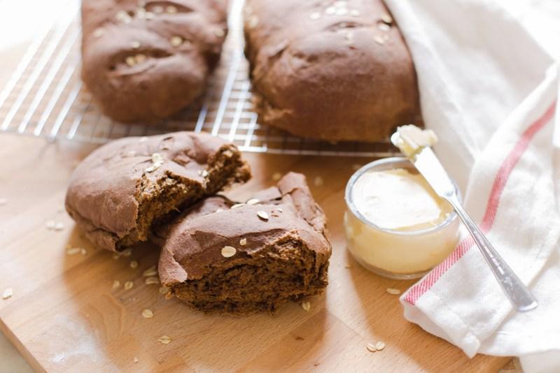 Sweet Molasses Brown Bread