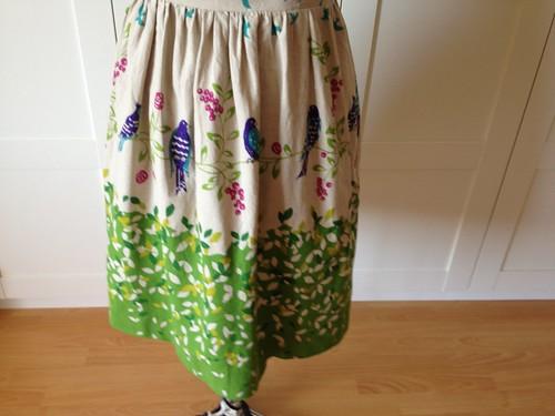 Echino garden 9929 skirt border