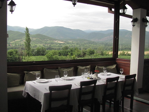 Popava Kula Winery-Dinning Room View