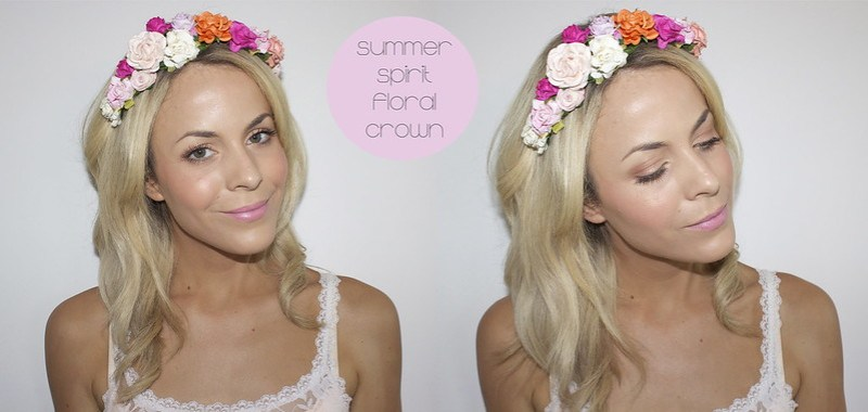 summer spirit floral crown