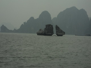 Halong Bay Kissing Cocks