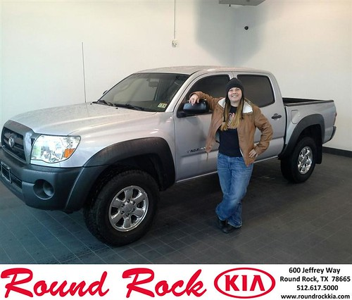 Thank you to Michelle Weaver on your new 2007 #Toyota #Tacoma from Eric Armendariz and everyone at Round Rock Kia! #NewCarSmell by RoundRockKia