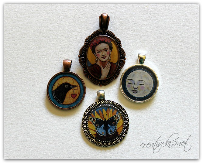 Art Pendants by Regina Lord
