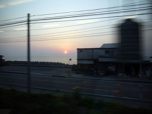 sea of japan sunset