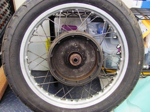 Brake Shoe Side, Rear Hub
