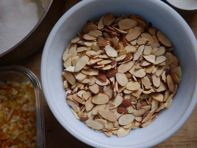 Florentines - Toasted almonds