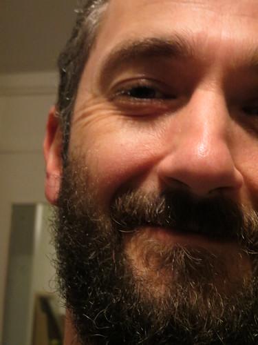 beardy face