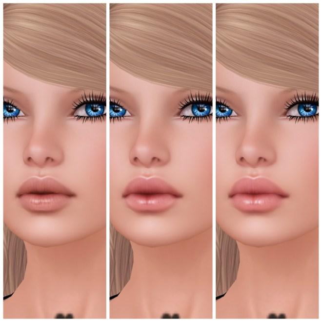 Glam Affair - Sylvia - 3 Basic Lips