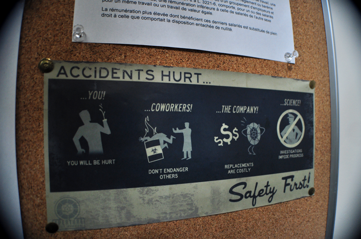 ACCIDENTS HURT...Safety First